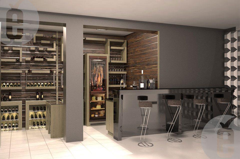 Мебель для винной комнаты
