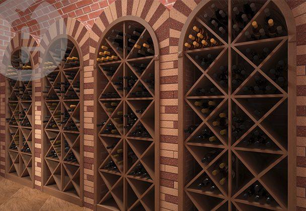 интерьер винного магазина