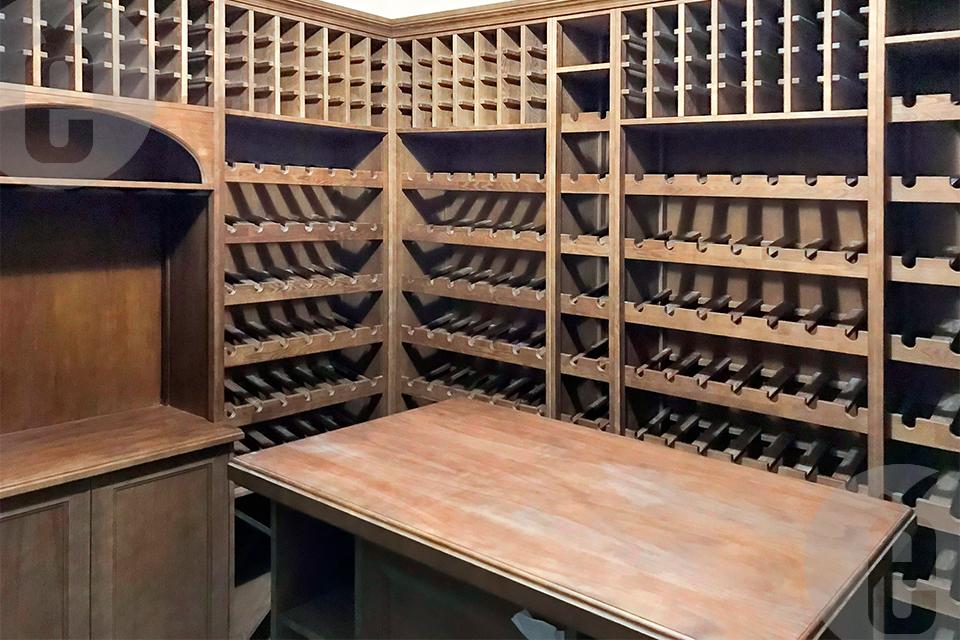 Подбор стеллажей для хранения вина