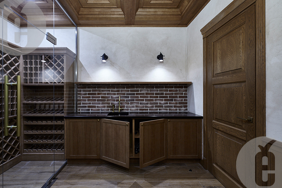 мебель для кухни из дуба